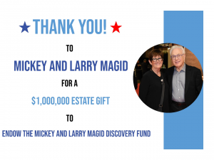 Larry Magid and his wife, Mickey, pledge $1M to the IRM.