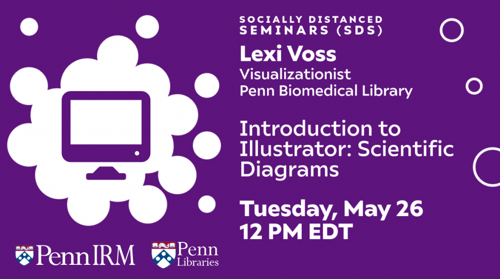 On May 26 at noon, Lexi Voss will walk us through the basics of using Adobe Illustrator to create scientifc figures. Click here to register.