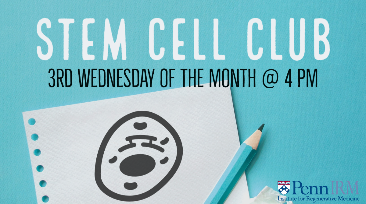 Join us on the third Wednesday of every month for Stem Cel Club. Click here to view our calendar.